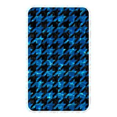 Houndstooth1 Black Marble & Deep Blue Water Memory Card Reader by trendistuff