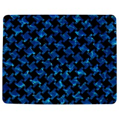 Houndstooth2 Black Marble & Deep Blue Water Jigsaw Puzzle Photo Stand (rectangular) by trendistuff