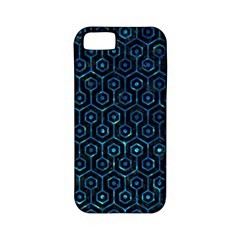 Hexagon1 Black Marble & Deep Blue Water Apple Iphone 5 Classic Hardshell Case (pc+silicone) by trendistuff