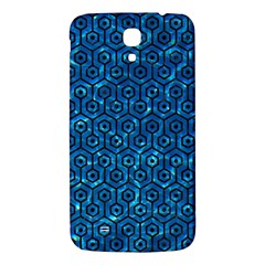Hexagon1 Black Marble & Deep Blue Water (r) Samsung Galaxy Mega I9200 Hardshell Back Case by trendistuff