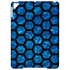 Hexagon2 Black Marble & Deep Blue Water (r) Apple Ipad Pro 9 7   Hardshell Case by trendistuff