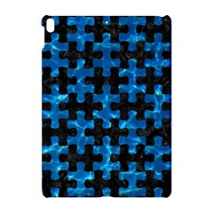 Puzzle1 Black Marble & Deep Blue Water Apple Ipad Pro 10 5   Hardshell Case by trendistuff