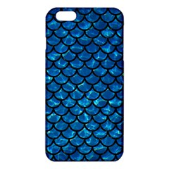 Scales1 Black Marble & Deep Blue Water (r) Iphone 6 Plus/6s Plus Tpu Case by trendistuff