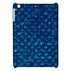 Scales2 Black Marble & Deep Blue Water (r) Apple Ipad Mini Hardshell Case by trendistuff