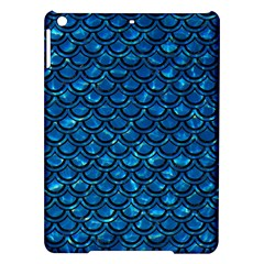 Scales2 Black Marble & Deep Blue Water (r) Ipad Air Hardshell Cases by trendistuff