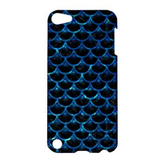 Scales3 Black Marble & Deep Blue Water Apple Ipod Touch 5 Hardshell Case by trendistuff