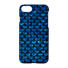 Scales3 Black Marble & Deep Blue Water (r) Apple Iphone 7 Hardshell Case by trendistuff