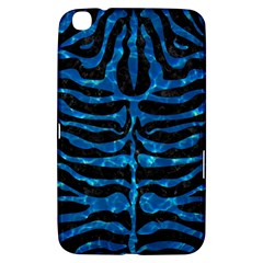 Skin2 Black Marble & Deep Blue Water Samsung Galaxy Tab 3 (8 ) T3100 Hardshell Case  by trendistuff
