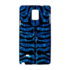Skin2 Black Marble & Deep Blue Water (r) Samsung Galaxy Note 4 Hardshell Case by trendistuff