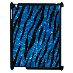 Skin3 Black Marble & Deep Blue Water (r) Apple Ipad 2 Case (black) by trendistuff