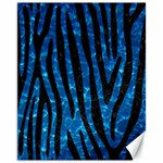 SKIN4 BLACK MARBLE & DEEP BLUE WATER Canvas 11  x 14   14 x11  Canvas - 1