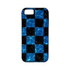 Square1 Black Marble & Deep Blue Water Apple Iphone 5 Classic Hardshell Case (pc+silicone) by trendistuff