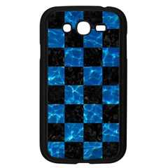 Square1 Black Marble & Deep Blue Water Samsung Galaxy Grand Duos I9082 Case (black) by trendistuff
