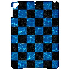 Square1 Black Marble & Deep Blue Water Apple Ipad Pro 9 7   Hardshell Case by trendistuff