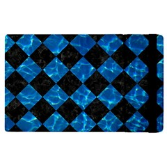 Square2 Black Marble & Deep Blue Water Apple Ipad Pro 9 7   Flip Case