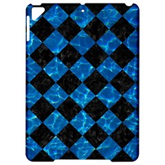 Square2 Black Marble & Deep Blue Water Apple Ipad Pro 9 7   Hardshell Case by trendistuff