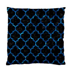Tile1 Black Marble & Deep Blue Water Standard Cushion Case (one Side) by trendistuff