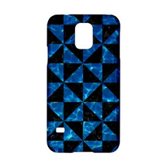 Triangle1 Black Marble & Deep Blue Water Samsung Galaxy S5 Hardshell Case  by trendistuff