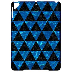 Triangle3 Black Marble & Deep Blue Water Apple Ipad Pro 9 7   Hardshell Case by trendistuff