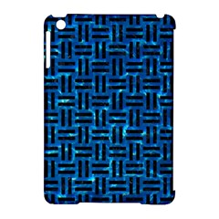 Woven1 Black Marble & Deep Blue Water (r) Apple Ipad Mini Hardshell Case (compatible With Smart Cover) by trendistuff