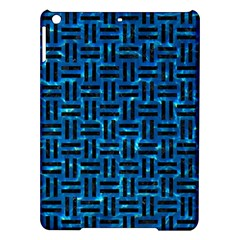 Woven1 Black Marble & Deep Blue Water (r) Ipad Air Hardshell Cases by trendistuff