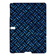 Woven2 Black Marble & Deep Blue Water Samsung Galaxy Tab S (10 5 ) Hardshell Case  by trendistuff