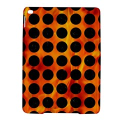 Circles1 Black Marble & Fire (r) Ipad Air 2 Hardshell Cases by trendistuff