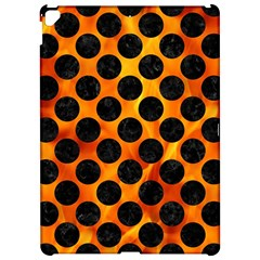 Circles2 Black Marble & Fire (r) Apple Ipad Pro 12 9   Hardshell Case by trendistuff