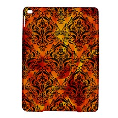 Damask1 Black Marble & Fire (r) Ipad Air 2 Hardshell Cases by trendistuff