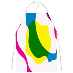 Anatomicalrainbow Wave Chevron Pink Blue Yellow Green Full Print Aprons