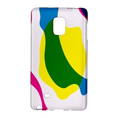 Anatomicalrainbow Wave Chevron Pink Blue Yellow Green Galaxy Note Edge by Mariart
