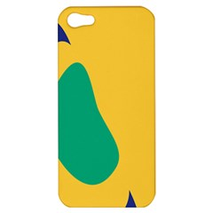 Yellow Green Blue Apple Iphone 5 Hardshell Case