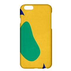 Yellow Green Blue Apple Iphone 6 Plus/6s Plus Hardshell Case by Mariart