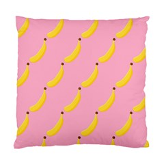 Banana Fruit Yellow Pink Standard Cushion Case (two Sides) by Mariart