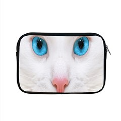 Beautiful White Face Cat Animals Blue Eye Apple Macbook Pro 15  Zipper Case by Mariart