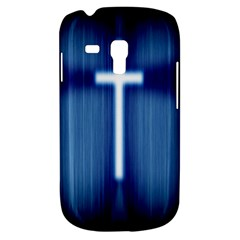Blue Cross Christian Galaxy S3 Mini by Mariart