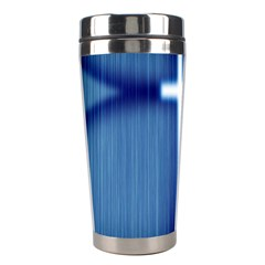 Blue Cross Christian Stainless Steel Travel Tumblers by Mariart