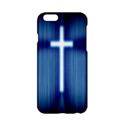 Blue Cross Christian Apple Iphone 6/6s Hardshell Case by Mariart