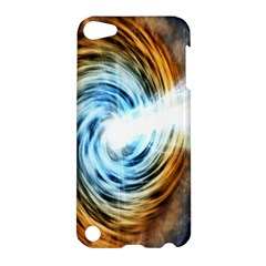 A Blazar Jet In The Middle Galaxy Appear Especially Bright Apple Ipod Touch 5 Hardshell Case by Mariart