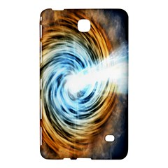 A Blazar Jet In The Middle Galaxy Appear Especially Bright Samsung Galaxy Tab 4 (8 ) Hardshell Case  by Mariart