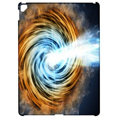 A Blazar Jet In The Middle Galaxy Appear Especially Bright Apple Ipad Pro 12 9   Hardshell Case by Mariart