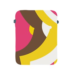 Breast Pink Brown Yellow White Rainbow Apple Ipad 2/3/4 Protective Soft Cases by Mariart