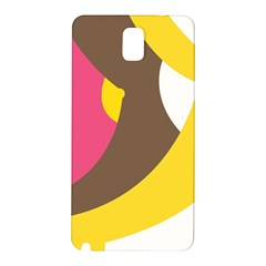 Breast Pink Brown Yellow White Rainbow Samsung Galaxy Note 3 N9005 Hardshell Back Case by Mariart