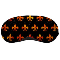 Royal1 Black Marble & Fire (r) Sleeping Masks by trendistuff