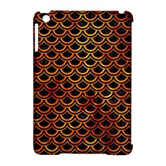 Scales2 Black Marble & Fire Apple Ipad Mini Hardshell Case (compatible With Smart Cover) by trendistuff