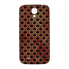 Scales2 Black Marble & Fire Samsung Galaxy S4 I9500/i9505  Hardshell Back Case by trendistuff