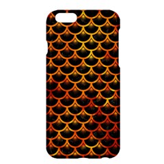Scales3 Black Marble & Fire Apple Iphone 6 Plus/6s Plus Hardshell Case by trendistuff