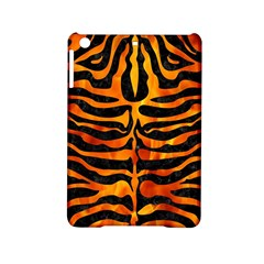 Skin2 Black Marble & Fire Ipad Mini 2 Hardshell Cases by trendistuff