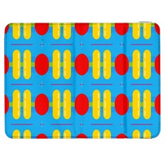 Ovals And Stripes Pattern                      Htc One M7 Hardshell Case by LalyLauraFLM