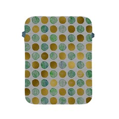 Green And Golden Dots Pattern                      Sony Xperia Zl (l35h) Hardshell Case by LalyLauraFLM